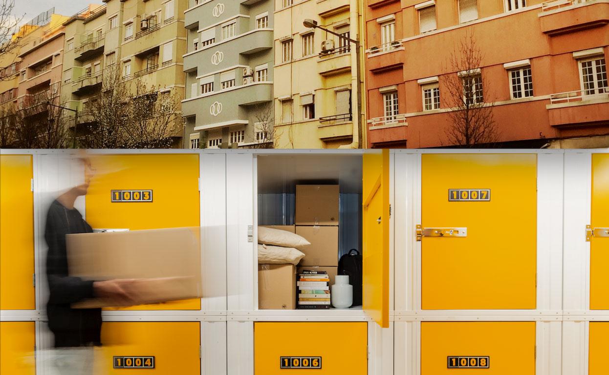 Kuboo e Lisboa; Self-storage e pastel